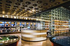 SPAZIO FORME – Parmigiano Reggiano Experience Store by LAI STUDIO, Maurizio Lai | Restaurant.. Custom Lighting, Lighting Design, Psychedelic Effects, Two Way Mirror, Edition Hotel, Lobby Reception, Spanish Towns