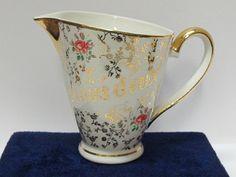 Small ceramic jug.Digoin Sarreguemines France by Antiquari on Etsy