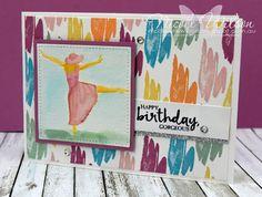 http://nicolejuliewilson.blogspot.com.au/ Colour INKspiration challenge #01 Beautiful You using Mint Macaron, Blushing Bride, Sweet Sugarplum, Peekaboo Peach, Tempting Turquoise and So saffron. www.facebook.com/NicoleWilsonStamp #stampinup #occasions #saleabration #birthday