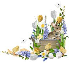Scrapbook PNG Cluster Freebies   Easter Freebie Cluster