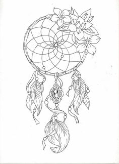 Dreamcatcher Drawing With Quotesgsggss