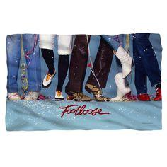 Footloose/Loose Feet Fleece Blanket in