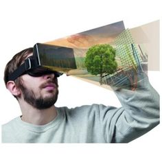 Virtual Reality bril. Go into another world.