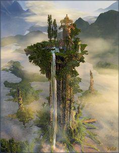 digital images | Digital Art, Perdido en el paisaje, Science fiction fantastic digital ...
