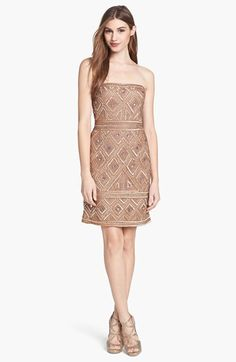 Adrianna Papell Beaded Mesh Dress | Nordstrom This is the dress!