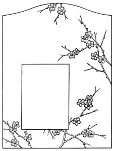 flowers and branches design, black and white graphics, ornate vintage graphics, vintage embroidery pattern, Victorian clip art frame, printable photo frame