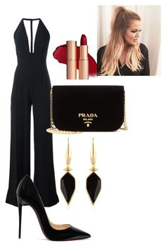 """Untitled #8"" by styledbymcbryt on Polyvore featuring La Mania, Christian Louboutin, Prada and Isabel Marant"