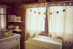 Project Nursery - Laundry room nursery