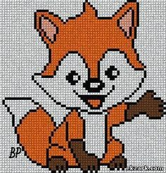 Cross Stitching, Cross Stitch Embroidery, Embroidery Patterns, Pony Bead Patterns, Loom Patterns, Cross Stitch Animals, Cross Stitch Flowers, Cross Stitch Charts, Cross Stitch Patterns