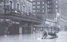 1937 flood louisville ky | 1937 flood - Four nuns (Sisters of Charity) in a boat on 4th near ...