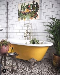 If you have a small bathroom in your home, don't be confuse to change to make it look larger. Not only small bathroom, but also the largest bathrooms have their problems and design flaws. Bad Inspiration, Bathroom Inspiration, Earthy Bathroom, Moroccan Bathroom, Bathroom Green, Eclectic Bathroom, Gold Bathroom, Industrial Bathroom, Bathroom Modern