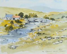 Image result for the sperrins watercolour