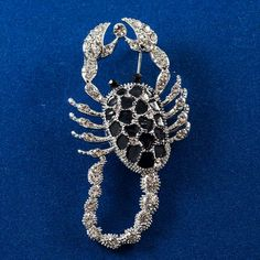 Faberge Style Brooch Scorpion is made on motives of jewelry items designed and manufactured in past by jewelry house of Karl Faberge. Faberge Jewelry, Enamel Jewelry, Jewel Of The Seas, Scorpion, Brooches, Jewelry Bracelets, Fashion Jewelry, Jewels, Gifts