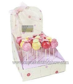 Cardboard Cake POP Box