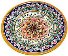 Majolica dipping plate