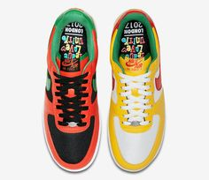 "7990684c822 Nike Air Force 1 Low ""Carnival"" Pack"