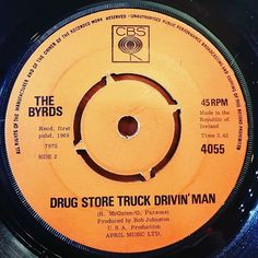 ...Sunday oldies! .. 'Drug Store Truck Drivin' Man' B-side of the classic 'Bad Night at the Whiskey' by The Byrds. #1969 #rogermcguinn #grahamparsons #irishpressing . .  #45rpm #vinyl #records #sixties #vinylporn #1960s #60s #vinylcollection #drugstoretruckdrivinman #badnightatthewhiskey #vinyligclub #vinyloftheday #vinyladdict #nowspinning #nowplaying #cbs #thebyrds #vinyljunkie #recordcollector #alansmusicstash #instavinyl #cbsrecords #goldenoldies #aprilmusic #thegoldenhour #bside