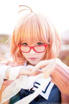Mirai Kuriyama from Kyokai no Kanata cosplay || anime cosplay