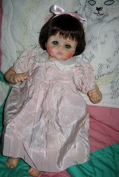 Madame Alexander- this was exactly like my Cathy doll as a little girl!