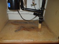 How To Replace Water Damaged Cabinet Bottom This Is A