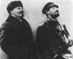 Lenin and Trotsky were more than mere flesh and bone — they were symbols of the revolution, socialist heroes.