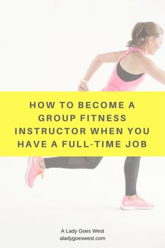 A detailed post on my advice on how to become a group fitness instructor when you have a full-time job, like how to get started and more. Love Fitness, Group Fitness, Fitness Tips, Fitness Motivation, Fitness Plan, Fun Workouts, Workout Exercises, Workout Routines, Physical Fitness