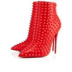 Christian Louboutin Boots on Pinterest | Black Leather, Black ...
