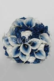 navy white and silver wedding - Google Search