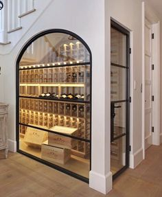 Wine cellar goals