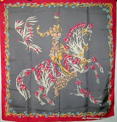 vintage: HERMES SCARVES. Have this in the 100 yr Neiman Marcus version.