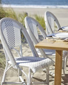 Outdoor Riviera Side Chair via Serena & Lily