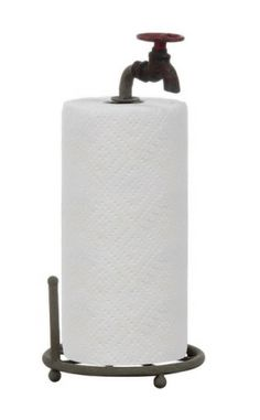 Creative Co-Op Rustic Metal Faucet Paper Towel Holder *** Click image for more details. (This is an affiliate link) Best Kitchen Faucets, Rusty Garden, Gadgets, Water Faucet, Paper Towel Holder, Towel Holders, Antique Farmhouse, Farmhouse Style, Fresh Farmhouse