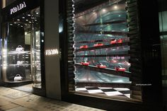 Prada windows at Bond street, London
