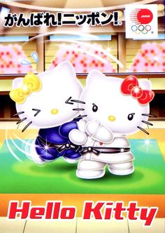 Sanrio, Hello Kitty, Snoopy, Tokyo 2020, Japan, Judo, Character, Babies, Cats