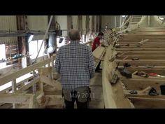 Dragon Harald Fairhair. The construction of a Viking Dragon Ship - YouTube