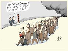 Flüchtlinge Türkei Pkk Erdogan -