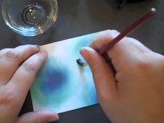 SAF 2012: Dye Ink Tie-Dye Technique - YouTube