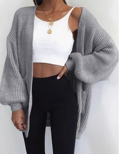 10 Fall Outfit Ideas and Staples You Need In Your Closet This Season Mode Outfits, Fall Outfits, Summer Outfits, Vest Outfits, Dance Outfits, Spring School Outfits, Outfits For Girls, Teen Party Outfits, High School Outfits