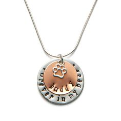 Forever In My Heart Pet Memorial Pendant | Personal Creations