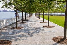 FDR Four Freedoms Park « Landscape Architecture Platform Landscape And Urbanism, Park Landscape, Urban Landscape, Landscape Design, Garden Design, Traditional Landscape, Contemporary Landscape, Urban Park, Cool Landscapes