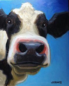 Cow Art by Jenny/Jennifer Counts♥♥