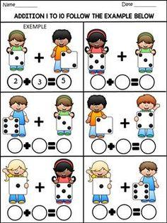 Fun Math Activities, Kindergarten Math Worksheets, Preschool Activities, Autism Learning, Kids Learning, Math For Kids, Math Lessons, Math Centers, Kids Learning Activities