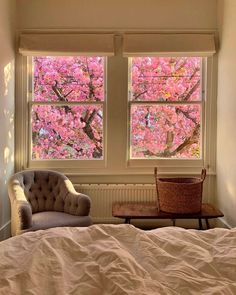 A room with a view. Interior And Exterior, Interior Design, Dream Apartment, Aesthetic Rooms, New Room, House Rooms, Dream Rooms, Decoration, My Dream Home