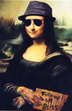 Mona Lisa Bliss (2011) Mr. Brainwash, Mona Lisa, Artwork, Bliss, Street Art, Culture, Movies, Artists, Work Of Art