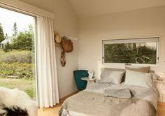 Vinalhaven middle cabin bedroom.