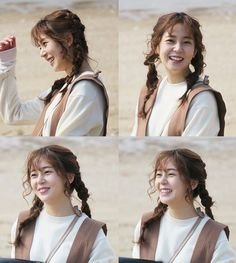 Baek Jin-hee brightened up the 'Missing set. Behind-the-scenes pictures of Baek Jin-hee were released. Korean Actresses, Actors & Actresses, Missing Nine, Lee Sun, Baek Jin Hee, Empress Ki, Ha Ji Won, Seo Joon, Real People