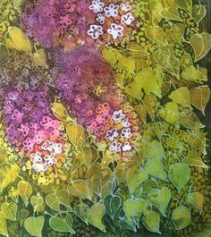 Batik lilac by Milka Macheta