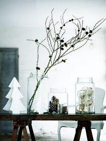 Nordisk interiør inspirasjon: Hvit jul