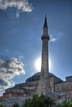Hagia Sophia. Such a truly amazing building. And Istanbul. Such a great city. The history!!