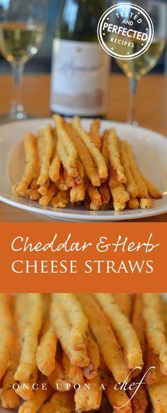 Cheddar & Herb Cheese Straws